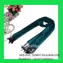 grey long jacquard scarf shawl-ladies fashion scarves