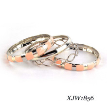 Fashion Enamel Beauty Bangle Set (XJW1856)