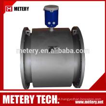 Battery powered electromagnetic flow meter