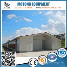 Casa de estrutura de aço personalizada para fábrica e armazém