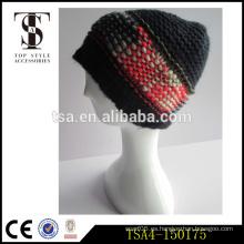 2016 precio de fábrica hombres sombrero de invierno moda de punto beanie witer mujeres
