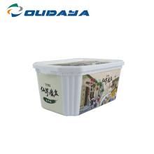 Настройте одноразовый контейнер для масла с крышкой