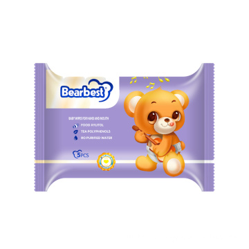 Baby Cleaning Mund Hand Wet Wipes