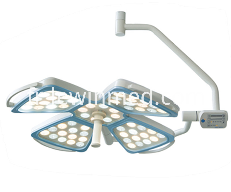 Double light operating lamp