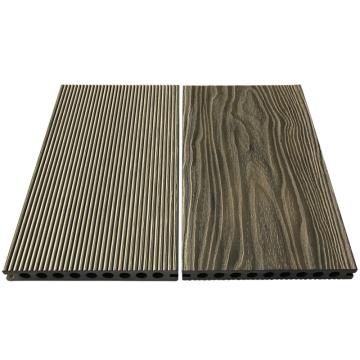 Wpc Decking-Wood Texture Suelo hueco Wpc Flooring