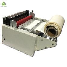 Máquina de corte de filme de bolha de ar com cortador transversal de papel