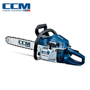 Venda quente de 2 tempos de aço india chainsaw top handle chainsaw 58cc
