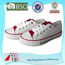 OEM ODM factory price women and men fancy canvas footwear, girl canvas sneaker