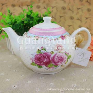 Delicate Design Artwork Enamel Chinese Pot