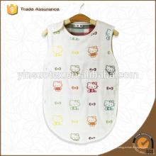 6-lagige Gaze Baumwoll-Baby-Schlaf-Swaddle weiche und atmungsaktive Babypackung
