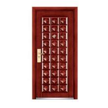 Armored Steel Wooden Door