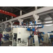 Enrolador de tubos de plástico PEAD / PPR e bobina de tubos