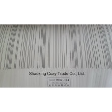 New Popular Project Stripe Organza Voile Sheer Curtain Fabric 0082104