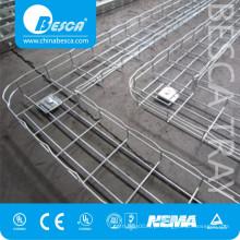 China Fornecedor Electro Galvanizado Galvanizado Bandeja De Cabo de Malha de Arame