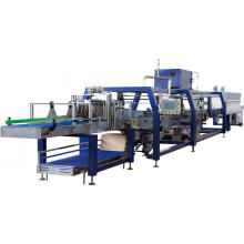 Автоматическая машина для упаковки лотков в термоусадочную пленку