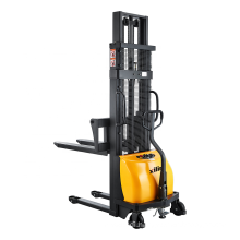 Xilin Walking Type Electric Stacking Truck Forklift 1500kg 1.5ton Semi Electric Pallet Stacker