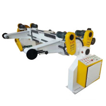 Electrical shaftless reel paper mill roll stand corrugated carton machine