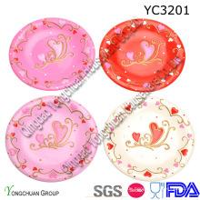 Keramik Servierteller für Hochzeit
