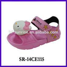 2014 cute soundable kids sandal wholesale