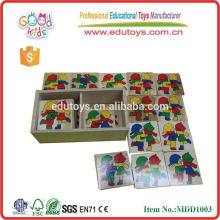 Wooden Puzzle Box Toys Kindergarten Supply