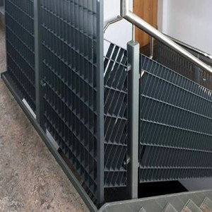 Galvanized Grid Steel Grid Infill Panel