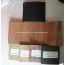 Rolo de forro de freio tecido em resina