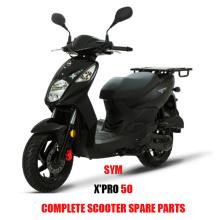 X 'PRO 50 para repuestos SYM X PRO 50 Repuestos originales para scooters Repuestos originales