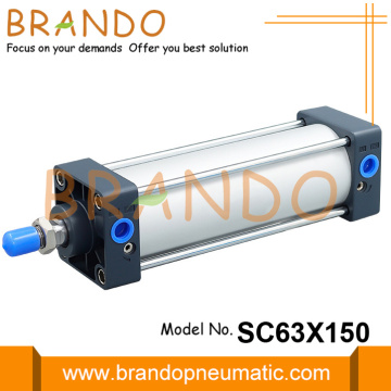 SC63X150 Airtac Type Pneumatic Air Cylinder 150mm Stroke
