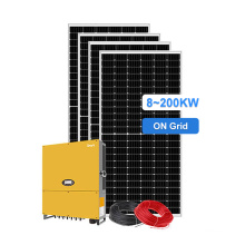 Hot selling 10kw on grid solar power system without battery