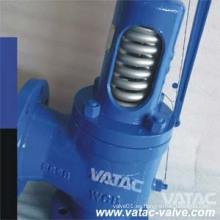 Válvula de seguridad de baja elevación operada por palanca