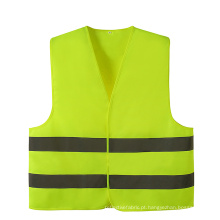 Velcro reflexivo fluorescente do protetor da segurança customizável