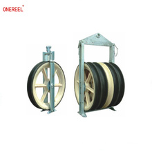 Heavy duty cable pulley