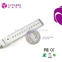Fabrik Direktverkauf 405nm 9w UV LED Lampe Nagel Schnelltrockner Birne aus Shenzhen