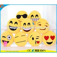 El diseño vendedor caliente de la novedad adorna la almohadilla de Emoji con la expresión facial