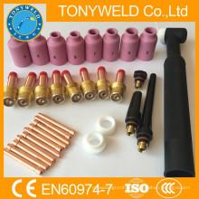 32 комплекты ПК тиг частей для горелки wp26 TIG и запасные части