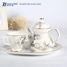 Tee Kaffee Zucker Kanister Set, Kaffee dabra Set, Kaffeetasse gesetzt