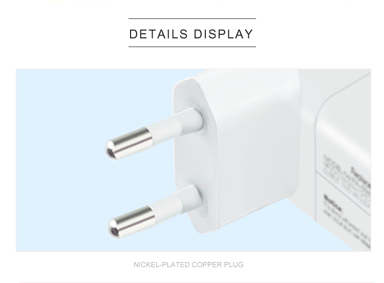 magsafe2 85w eu plug power charger for iphone computer laptop
