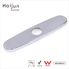Haijun China Manufacturer Bathroom Water Sink Hole Cover Faucet Deck Plate