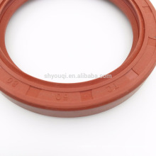 Le joint rouge d'huile de silicone de double joint le joint d'huile en caoutchouc résistant à la chaleur de pièces d'auto de TC