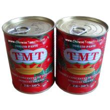 Консервированная томатная паста (TMTbrand размер 400g producton line)