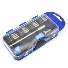 Multi-porte-tournevis portatif avec set de cliquet