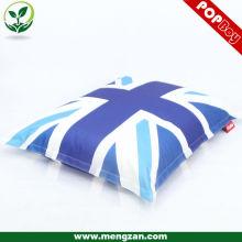 Impresión digital gran beanbag / beanbag sofá largo silla