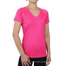 Wholesale Mulheres Desgaste Rápido Desgaste Do Esporte T-Shirt