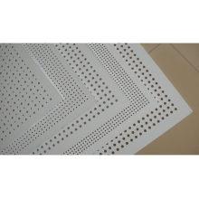 Maille métallique perforée en acier moulé perforé en acier et en poudre