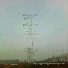220 кВ, одноконтурная и 110 кВ двухконтурная и 10 квв четырехконтурная стальная трубчатая башня