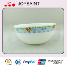 High Quality Decoration Deep Glass Oval Bowl Use for Home