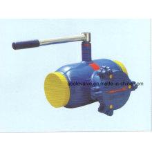 Válvula de esfera totalmente soldada de auto-filtragem com filtro interno (GLQ61F) -Handle operado