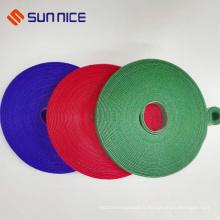 Usine de la Chine Qualité fiable coudre sur l'enroulement de câble de boucle de crochet