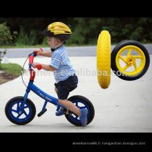 Haute qualité 12 pouces panier roue bébé poupée poussette en caoutchouc roue 12 ''