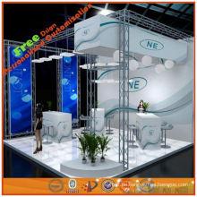 6x6 Modische Messe Display-Ausrüstung Design aus Shanghai